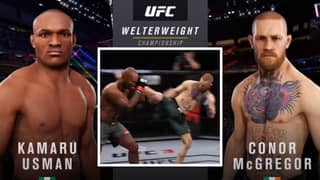 YouTuber's Simulation For Conor McGregor vs Kamaru Usman Ends With A Shocking Submission