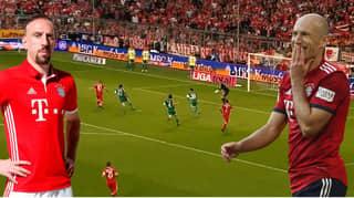 Bundesliga Release Nine Minute Compilation Of Robben And Ribery's Bayern Munich Best Bits