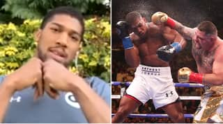 Anthony Joshua Reveals The Hardest Puncher He's Ever Faced And It's Not Andy Ruiz Jr