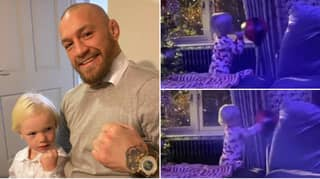 Conor McGregor's Son Wows Father With Serious Boxing Skills