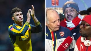 Arsenal Fans Message Alex Oxlade-Chamberlain To Save Them From Spurs Champions League Win
