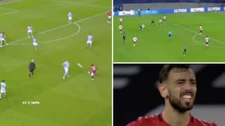 Compilation Of Bruno Fernandes Not Turning Up In Big Games Is Brutal