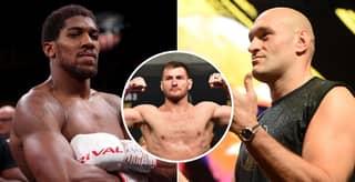 UFC Heavyweight Champion Stipe Miocic Shockingly Calls Out Anthony Joshua And Tyson Fury