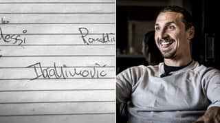 Zlatan Ibrahimovic Names His Dream XI And It's Ridiculously Good