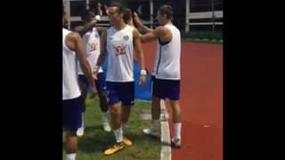 WATCH: Alvaro Morata Scores An Outrageous Goal During Chelsea Training