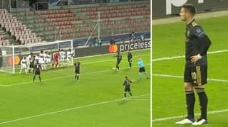 Dusan Tadic Somehow Manages To Score In-Direct Free-Kick, Despite Entire Team Standing On Goal-Line