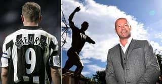 Newcastle United Erect Alan Shearer Statue Outside St James' Park
