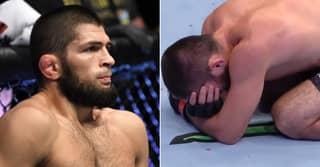Khabib Nurmagomedov Shares Crazy Photo Of His Mumps Battle Before UFC 254