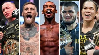 The 25 Greatest MMA Fighters Of All Time Have Been Named And Ranked