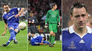 12 Years Ago Today, John Terry Slipped In The Champions League Final