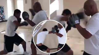 Mike Tyson's Son Is Just As Savage As His Dad After Showing Off His Skills On The Pads
