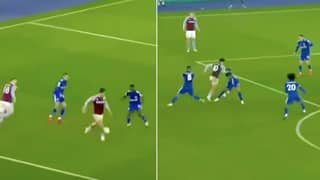 Jack Grealish's Highlights Against Leicester City Prove He's A Serious Baller