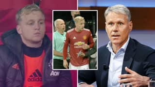 Donny Van De Beek Told He Has Made Huge Mistake Joining Manchester United By Marco Van Basten