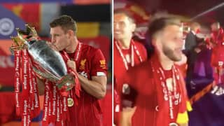 "James Milner Called Manchester United ""F***ing ""W***ers' Before Liverpool Lifted Premier League Trophy"