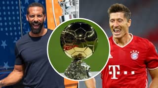 Rio Ferdinand Thinks It's 'Cruel' Robert Lewandowski Won't Win The Ballon d'Or This Year