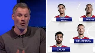 Jamie Carragher Picks His Combined Liverpool And Manchester United XI