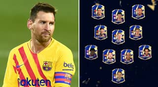 Lionel Messi Misses Out On FIFA Team Of The Year's Starting XI For The First Time Ever