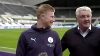 Steve Bruce Hilariously Tried To Tap Up Kevin De Bruyne During Post-Match Interview