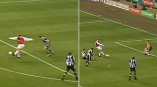 Happy 17th Birthday To The Greatest First Touch In Football History By Dennis Bergkamp