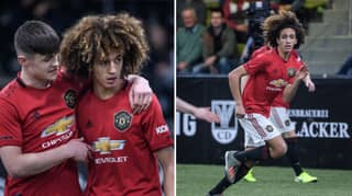 Manchester United Worried Youngster Will 'Get His Legs Broken'