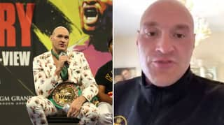Tyson Fury Claims He Used To Drink Foster's In Between Rounds