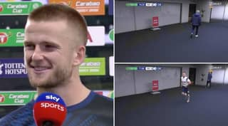 Eric Dier And Jose Mourinho Hilariously React To Spurs Star Sprinting Off The Pitch For A 'Bathroom Break'