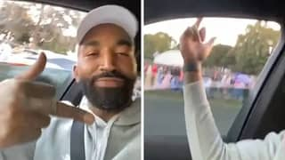 J.R. Smith Flips Off MAGA Supporters While Playing The 'F*** Donald Trump' Song