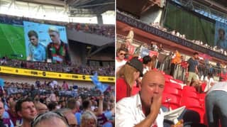 Football Fans Can't Believe What Happened At Half-Time During The Championship Play-Off Final