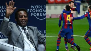 Pele Gives Classy Congratulations To Messi On Equalling His Incredible Record