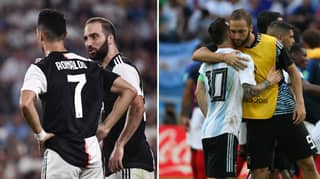 Gonzalo Higuain Omits Cristiano Ronaldo And Lionel Messi From Top Three Players
