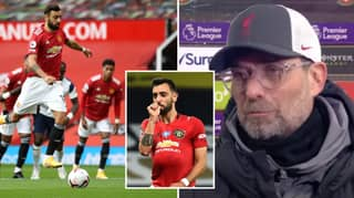 Bruno Fernandes Hits Back At Liverpool Manager Jurgen Klopp Over Controversial Penalty Comments