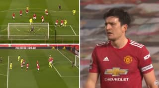 Harry Maguire Hammered For Header That Was 'Perfect Assist' For Newcastle Goal