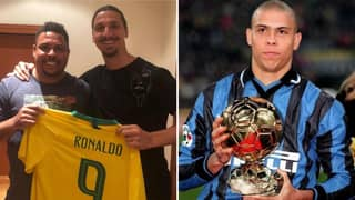 Zlatan Ibrahimovic Believes Ronaldo Nazario Is The Greatest Player Of All-Time