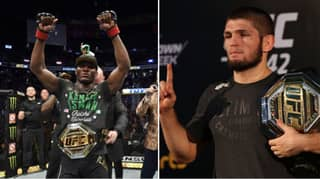 Kamaru Usman's Response When Asked If He'd Fight Khabib In UFC Super-Fight