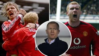 Paul Scholes Names Best Manchester United Striker He Played Alongside At The Red Devils