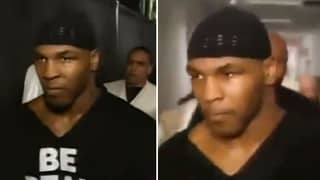 Mike Tyson Walking Out To DMX In 1999 Is Spine-Tingling