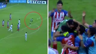 When Chivas Goalkeeper Tono Rodriguez Won A Game With Stunning Strike From His Own Box