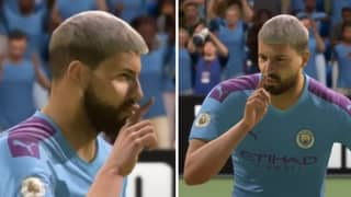 The 'Shush' Celebration Has Been Removed From FIFA 21