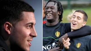 Eden Hazard Has A Message For Romelu Lukaku, And It's Brilliant