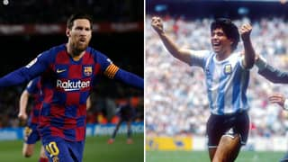 Diego Maradona's Son Talks About Comparing His Dad To Lionel Messi