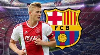 Barcelona Are 'On The Verge' Of Signing Ajax Captain Matthijs De Ligt