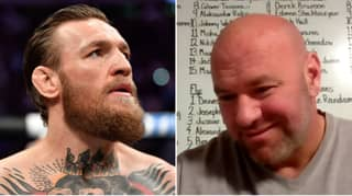 Dana White Reveals Text Message From Conor McGregor About UFC 'Fight Island'