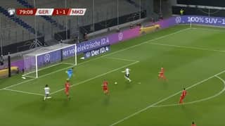 Timo Werner Misses Absolute Sitter As Germany Lose To North Macedonia