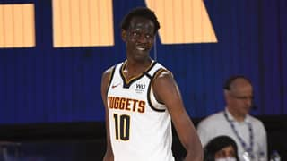 7 Foot 2 Inch Bol Bol Steals The Show In NBA Debut