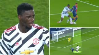 Stunning Compilation Of Axel Tuanzebe's Performance For Man Utd Vs PSG After 10 Months Out