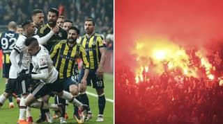 The Last Five Derbies Between Besiktas And Fenerbahce Have Been Utter Madness