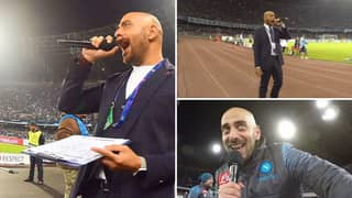 Meet Napoli Announcer Daniele Bellini: The Man With The Greatest Voice In Football