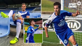 Meet Álex Sánchez: The One-Handed Professional Footballer Who Is Inspiring A Generation