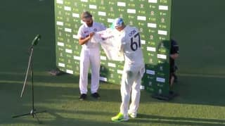 Indian Cricket Team's Touching Gesture To Nathan Lyon On His 100th Test Match