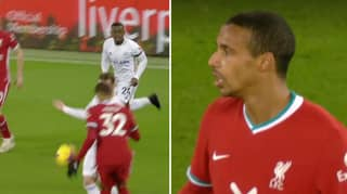 VAR Denies Leicester City A Penalty After Joel Matip Handball
